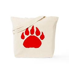 Bear Paw Tote Bag