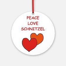 snchnitzel Ornament (Round)