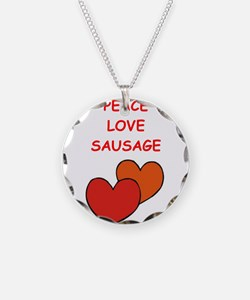 sausage Necklace
