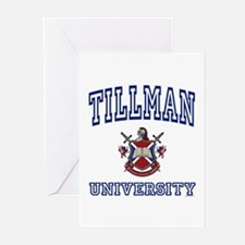 TILLMAN University Greeting Cards (Pk of 10)