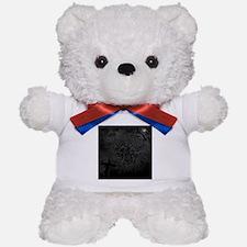 graveyard, graves BW Teddy Bear