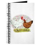 White Red Chickens Journal