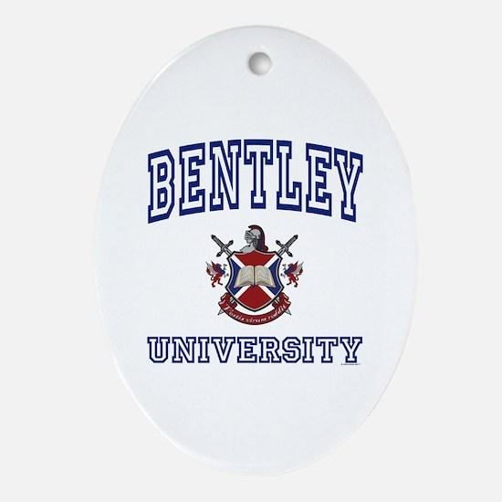 BENTLEY University Oval Ornament