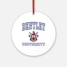 BENTLEY University Ornament (Round)