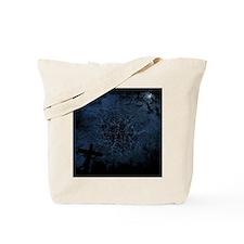 graveyard, graves blue Tote Bag