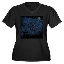 graveyard, graves blue Plus Size T-Shirt