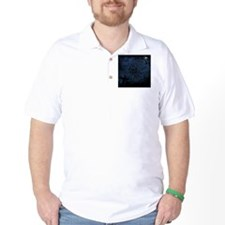 graveyard, graves blue T-Shirt