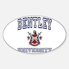 BENTLEY University Oval Decal