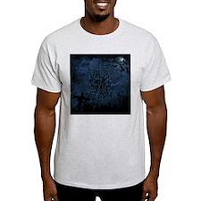 graveyard, graves blue T-Shirt