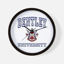 BENTLEY University Wall Clock