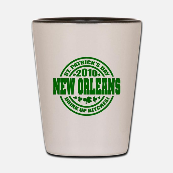 NEW ORLEANS Drink up 10_p01 Shot Glass