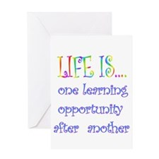 Learning opportunity Greeting Cards