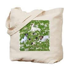 PUPPY PLAYTIME IN THE PARK BLANKET Tote Bag