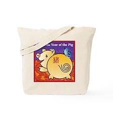 PigTshirt Tote Bag