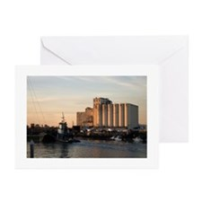 Sunset:Tug And Barge Greeting Cards (Pk of 10)