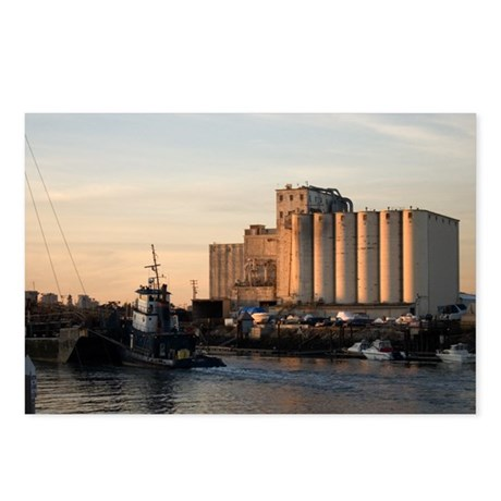 Sunset: Tug And Barge Postcards (Package of 8)