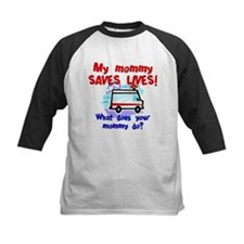 mommy saves lives ambulance.jpg Baseball Jersey