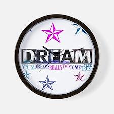 Dreams Come True1.gif Wall Clock