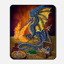 Dragons_Treasure_16x20 Mousepad