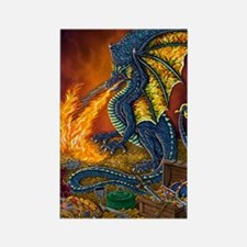 Dragons_Treasure_16x20 Rectangle Magnet