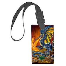 Dragons_Treasure_16x20 Luggage Tag