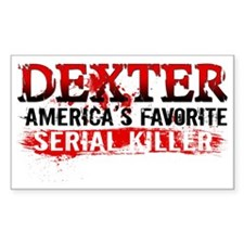 Favorite Serial Killer Hat Decal