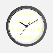 I Think I Will Have Another Drink - Par Wall Clock