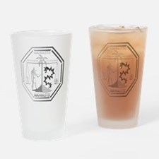 Smoke Monster and Anubis Drinking Glass