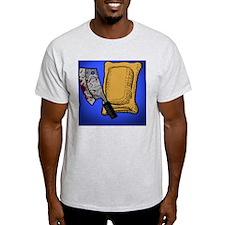 Blue Pizza Roll T-Shirt