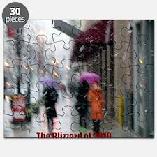 Blizzard of 2010_romantic_10x10 Puzzle