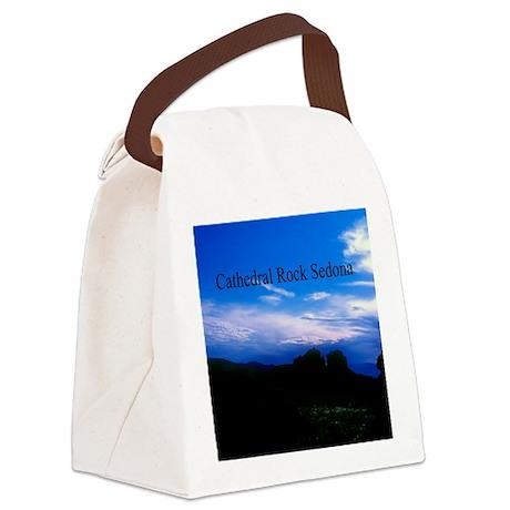 Cathedral Rock Sedona Arizona9.5x Canvas Lunch Bag