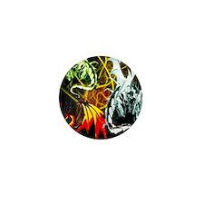Dragons - Inner Rage Mini Button