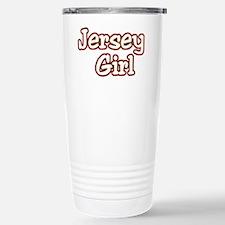 2-jersey girlD Stainless Steel Travel Mug