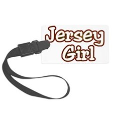 2-jersey girlD Luggage Tag