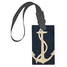 Flag Anchor Luggage Tag