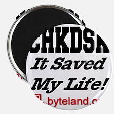 chkdsk_itsavedmylife Magnet