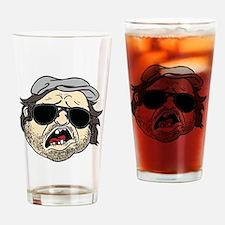 Plinkett Head Drinking Glass