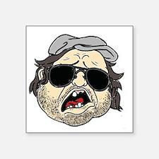"""Plinkett Head Square Sticker 3"""" x 3"""""""
