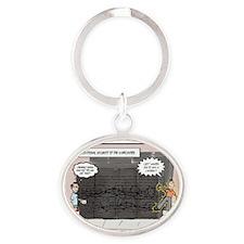 security1 Oval Keychain
