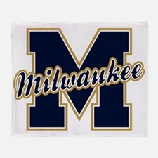 Milwaukee Letter Throw Blanket
