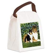 Rough Collie Mom Canvas Lunch Bag