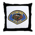 Pomona Police Throw Pillow