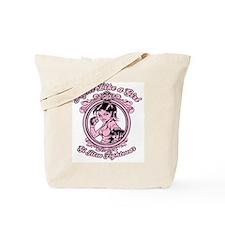 bjj fighter(girl) Tote Bag