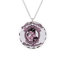bjj fighter(girl) Necklace