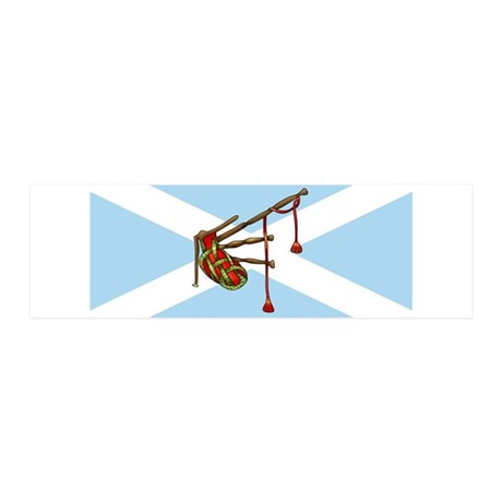 Bagpipes Wall Decal