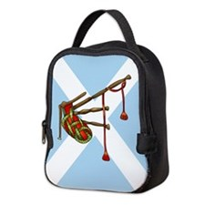 Bagpipes Neoprene Lunch Bag