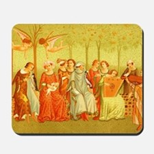 The Dream of Life Ital Costume 14th C af Mousepad