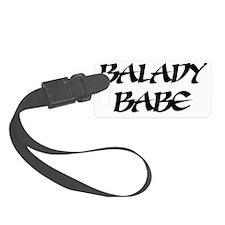 Balady-Babe_black Luggage Tag