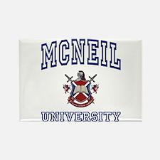 MCNEIL University Rectangle Magnet
