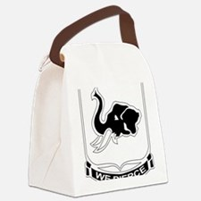 DUI - 64th Armor Regiment Canvas Lunch Bag
